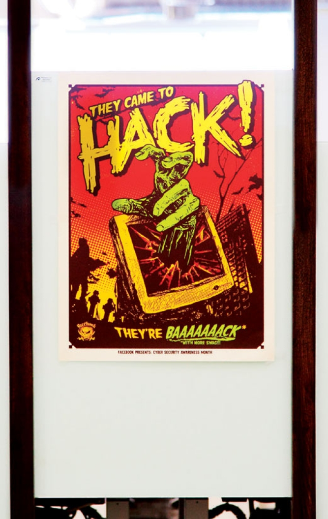 A poster on hackathons.