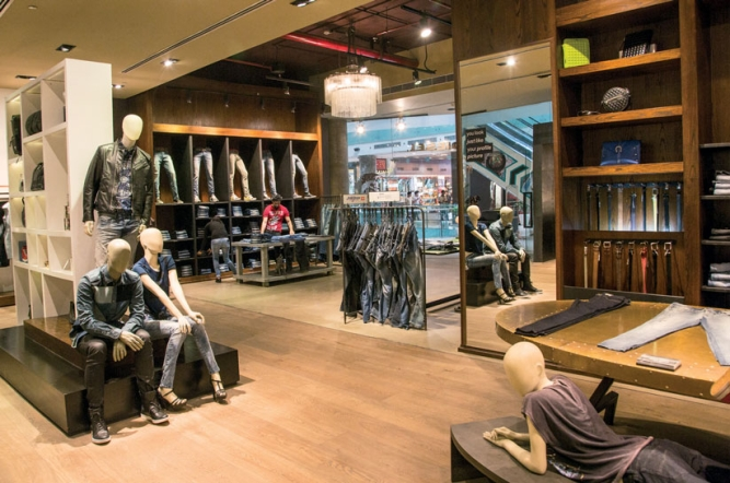 fccd79ab Globally, denim faces existential problems as it's no longer the  predominant wardrobe choice. In the West, 'athleisure' brands like Under  Armour and ...