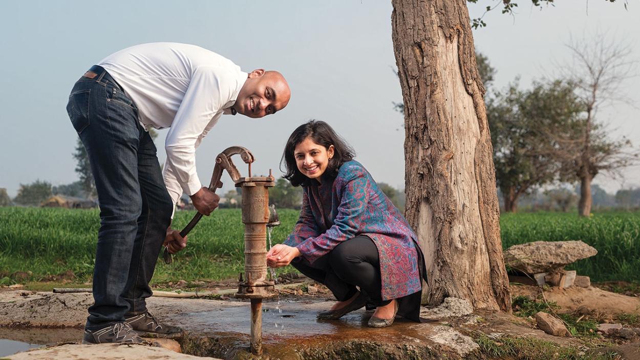 Puneet J & Ishira Mehta:  Bridging the gap between farmers and consumers