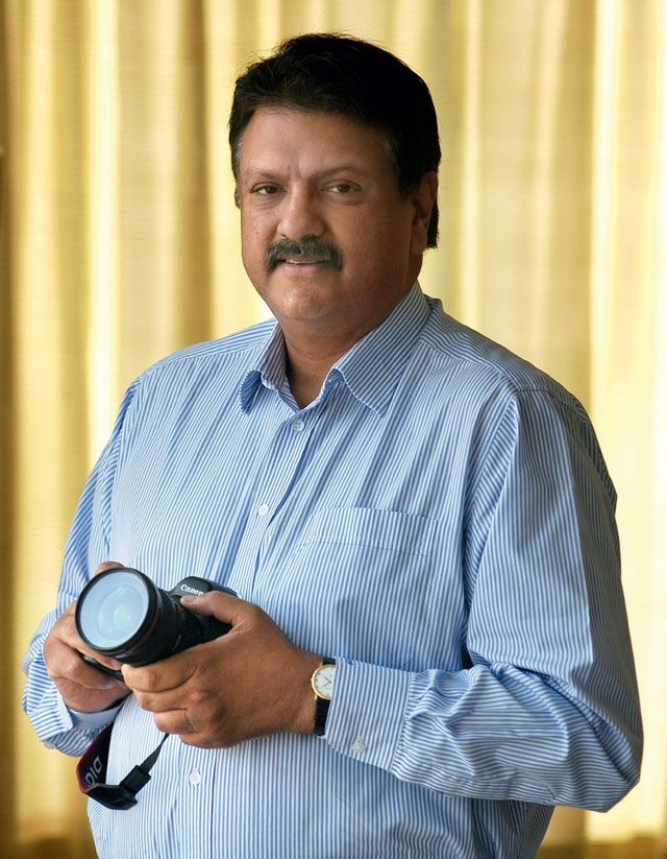 """Ajay piramal, chairman, Piramal Healthcare, poses says that """"every moment and every object has a quality—to understand that in a fleeting moment and capture it for posterity gives me the joy of creation ."""""""