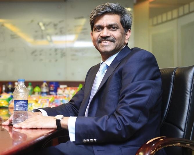 D. Shivakumar, chairman and CEO, PepsiCo India.