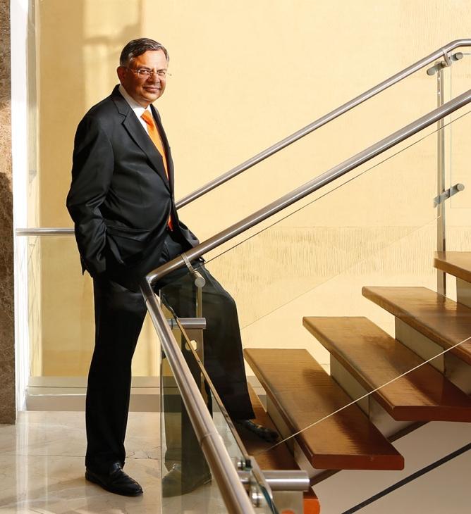 N. Chandrasekaran, chairman, Tata Sons.