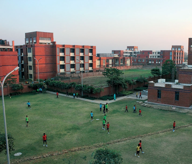 Vidyagyan's Bulandshahr Campus is spread over 20 acres, including sports facilities and a hostel for 700 students.