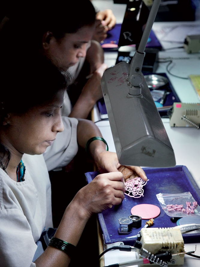 With local operations being trimmed, what future awaits skilled workers like these at Gitanjali's units?