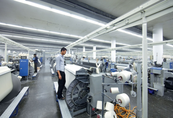 Nishat Mills can make over 7 million metres of cloth <br />