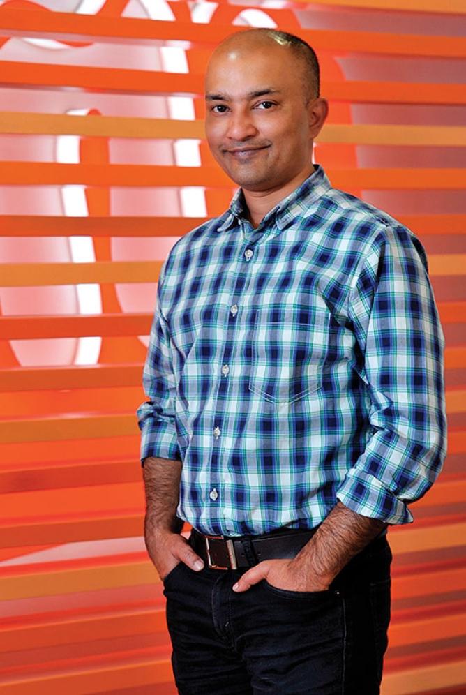 Different player: Shubhajit Sen, director of marketing, Micromax.