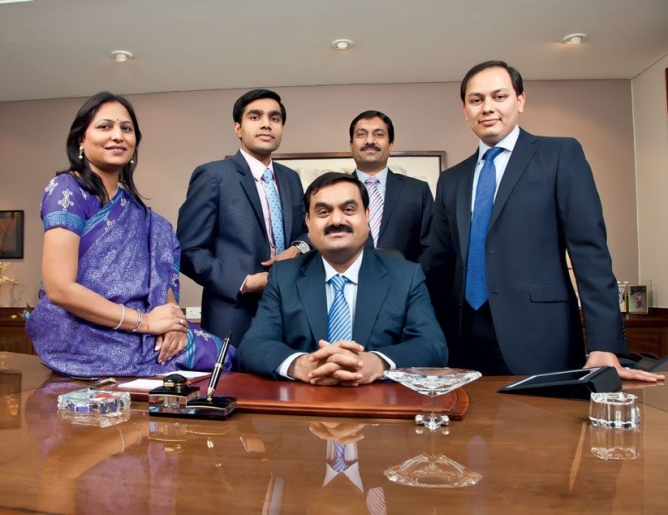 Image result for gautam adani family