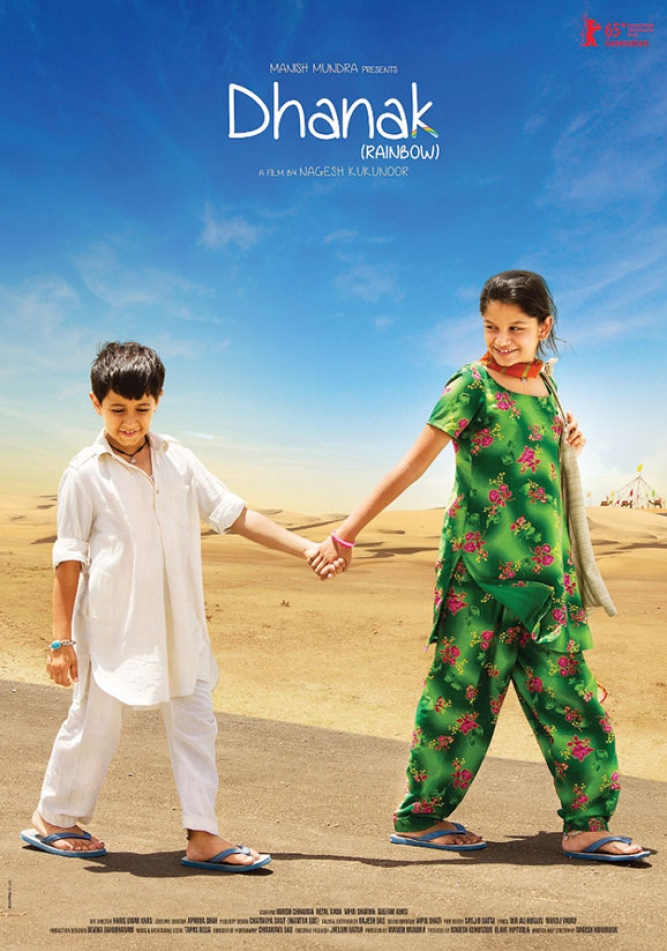 <strong>Dhanak: </strong>Ten-year-old Pari makes a promise to restore her blind brother Chotu's eyesight within a year. When she comes across a poster of Shahrukh Khan making a eye-donation appeal, she sets off on a road trip with Chotu to see if the superstar can help fulfil her promise.