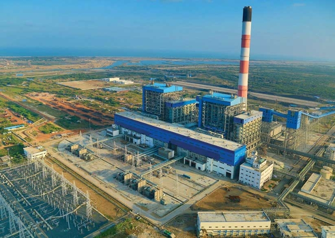 Supercritical thermal power plant at Krishnapatnam, Andhra Pradesh