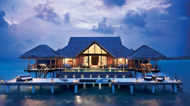 BLUE LAGOON: The Taj Exotica Resort & Spa, the Maldives