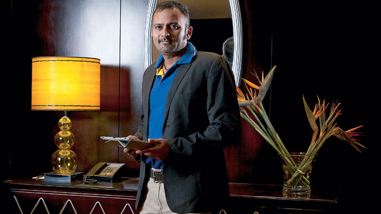Rajasthan Royals CEO Raghu Iyer on food, rest, and play while on the road