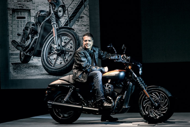 Anoop Prakash, Managing director, Harley-Davidson India
