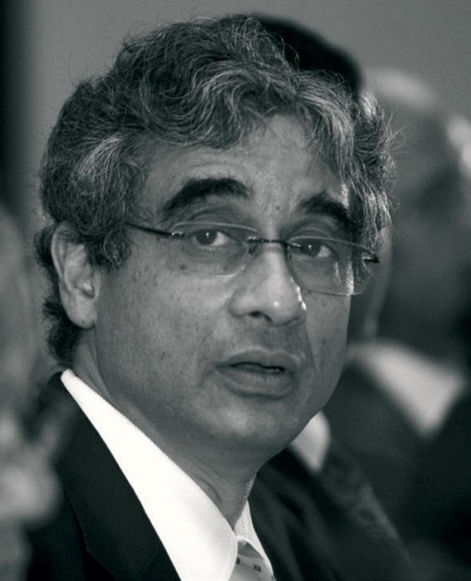 O.P. Bhatt, chairman,