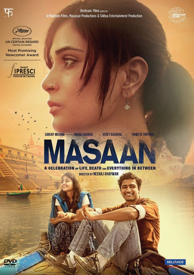 <strong>Masaan:</strong> Two parallel narratives on the search for liberation run through this film set in Varanasi. One is about a girl trying to overcome her guilt when her boyfriend is driven to suicide after the police find them together in a hotel room during a raid and blackmail them. The other is about a youth pursuing an engineering degree to unshackle himself from his low-caste experience
