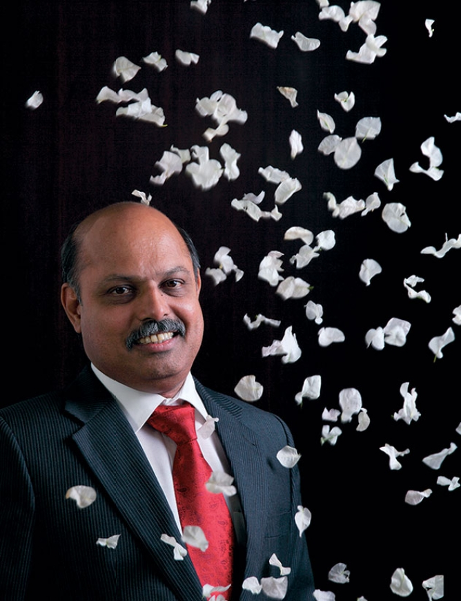 M.S. Unnikrishnan, managing director of Thermax, prefers fossil fuel for now.