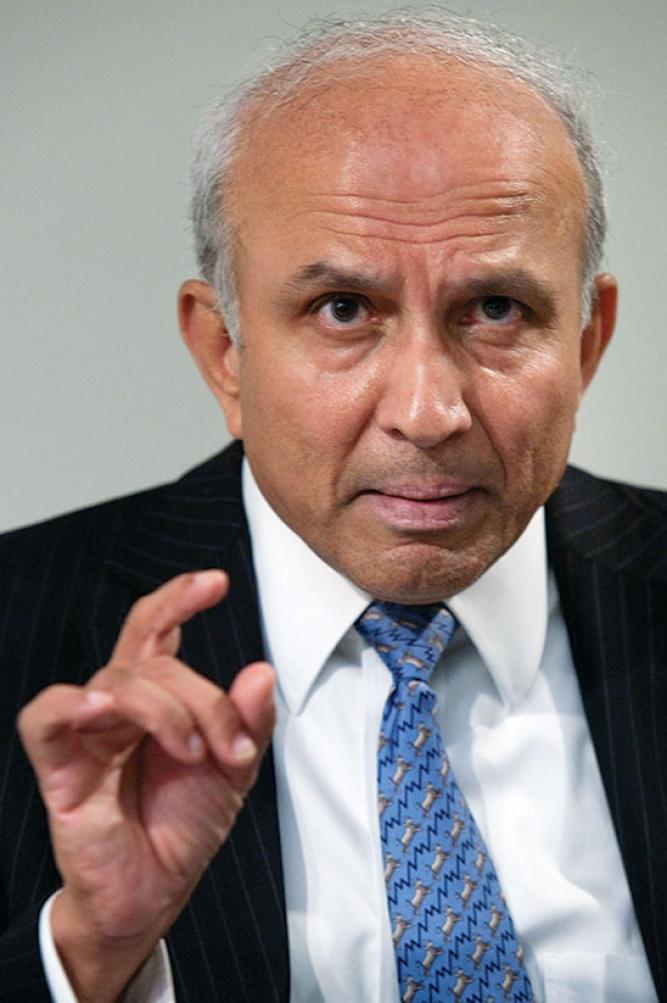 Prem Watsa,Chairman and CEO, Fairfax Financial Holdings