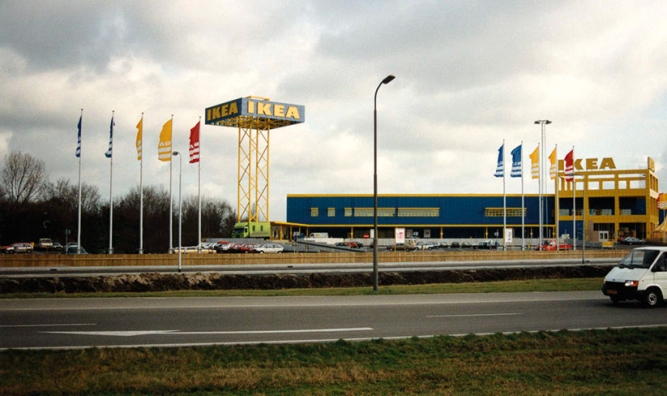 Global reach: Ikea has superstores across the globe.