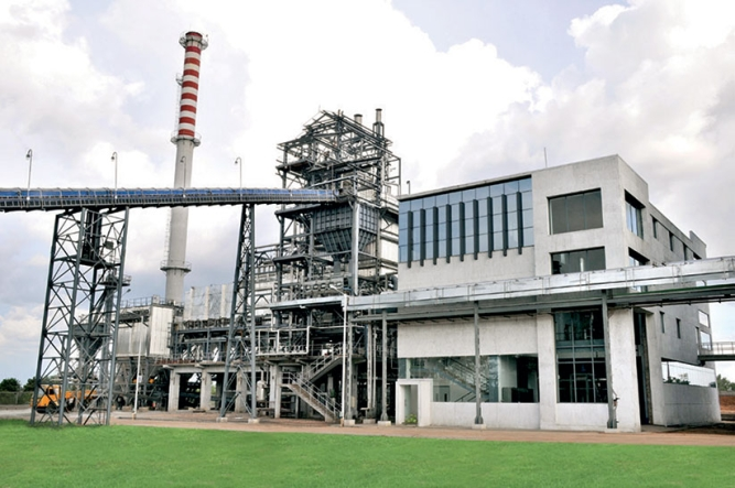 JK Cement's Nimbahera (Rajasthan) factory, powered by heat generated from cement made there.
