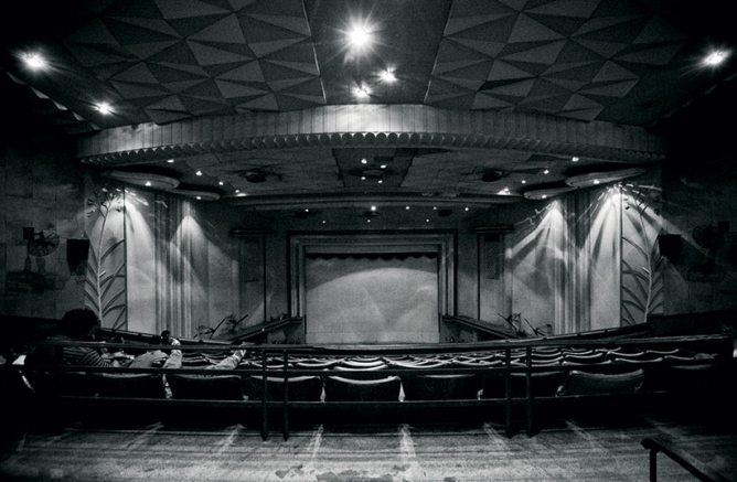 but barring a few—shown here is Kolkata's Basusree Cinema founded in 1947—the lights went out on single screens.