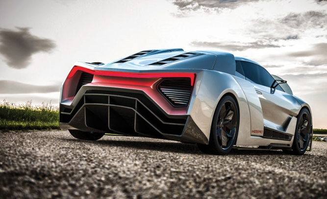 Moonshot, by road Mean Metal Motors says its supercar will be made of a material that has never been used for similarly powerful models.