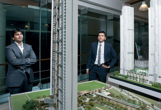 High Hopes:The Lodha siblings and a model of their Bellissimo project