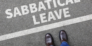 Work sabbaticals are no longer taboo