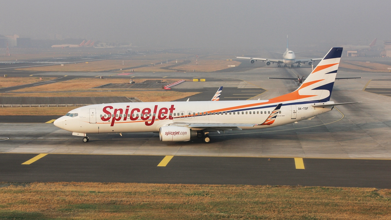 SpiceJet reports a profit of  ₹261.7 crore