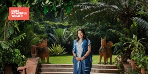 The first lady of Indian fashion