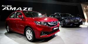 The new Honda Amaze gets a diesel-CVT combo