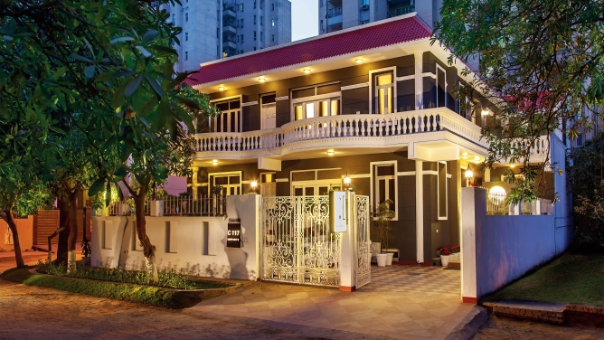 OYO turns small hotels, guest houses, and second homes into fully serviced properties.