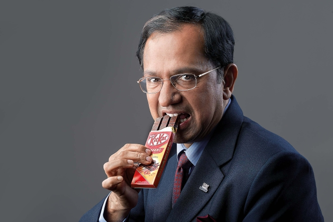 Suresh Narayanan, chairman and managing director of Nestlé India, says their products mostly cater to youngsters.