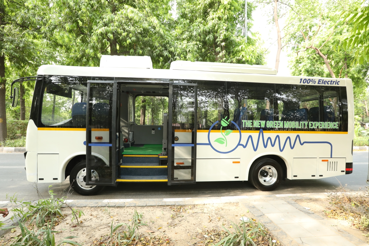 Can e-buses rev up India's electric revolution?