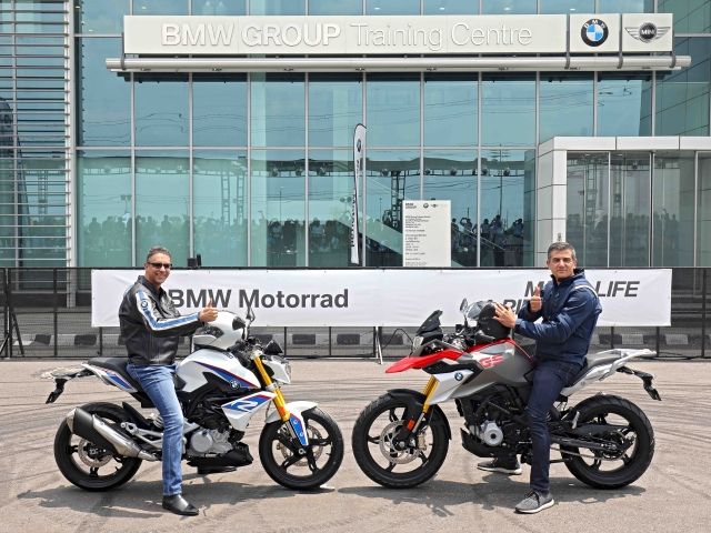 BMW launches  affordable bikes in India