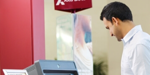 Axis Bank falls a day after Q1 results