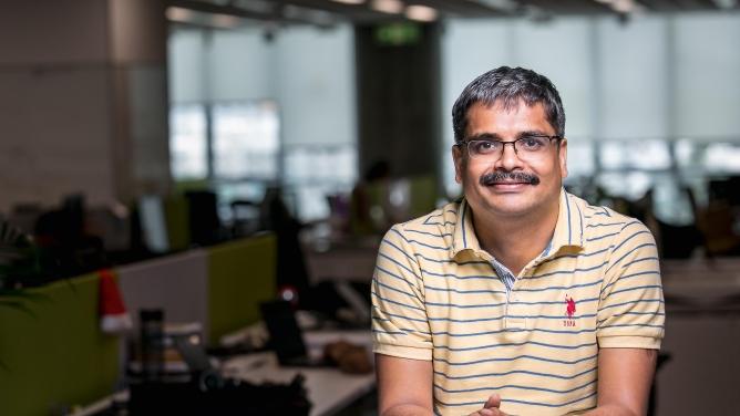 Dilipkumar Khandelwal, managing director, SAP Labs India.