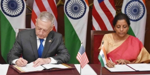 India, U.S. sign key military communication pact