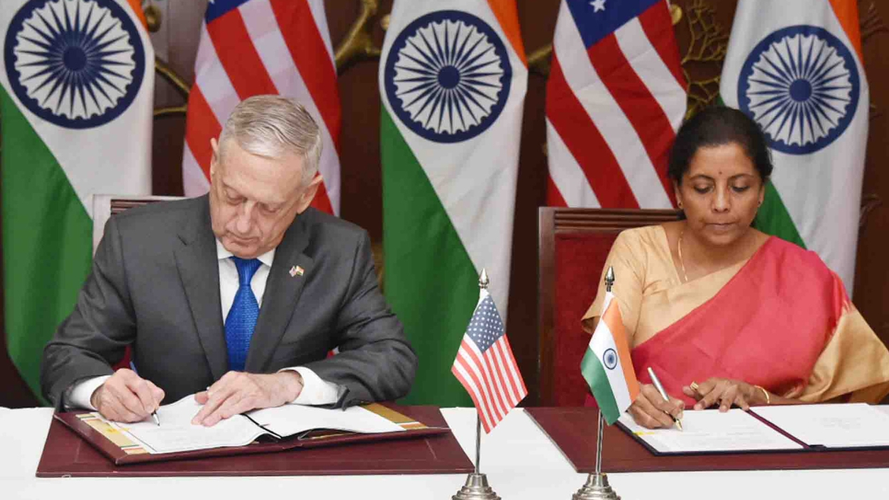 India, U.S. sign key military communication pact