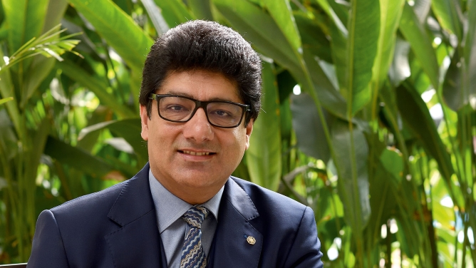 Puneet Chhatwal, managing director and CEO of Indian Hotels