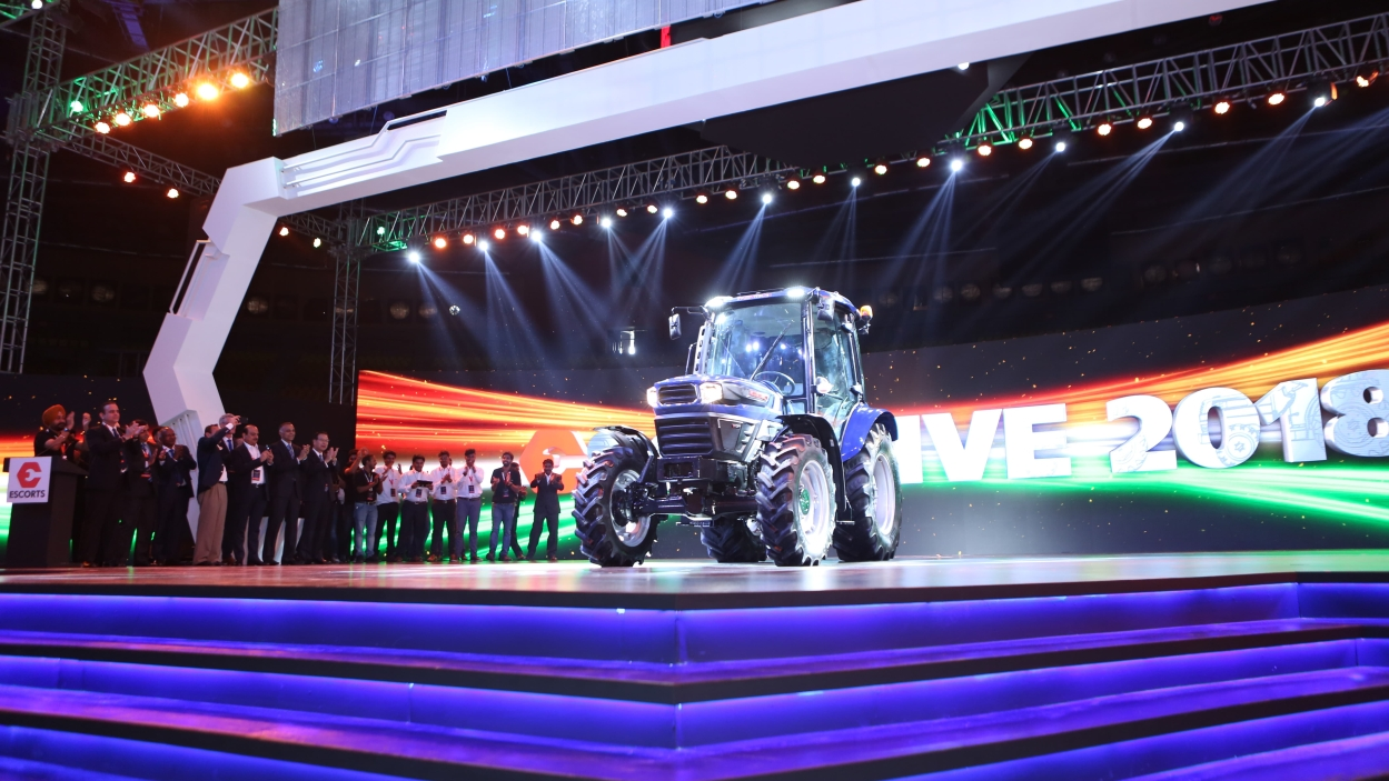 Escorts launches driverless tractors and other agrotech products