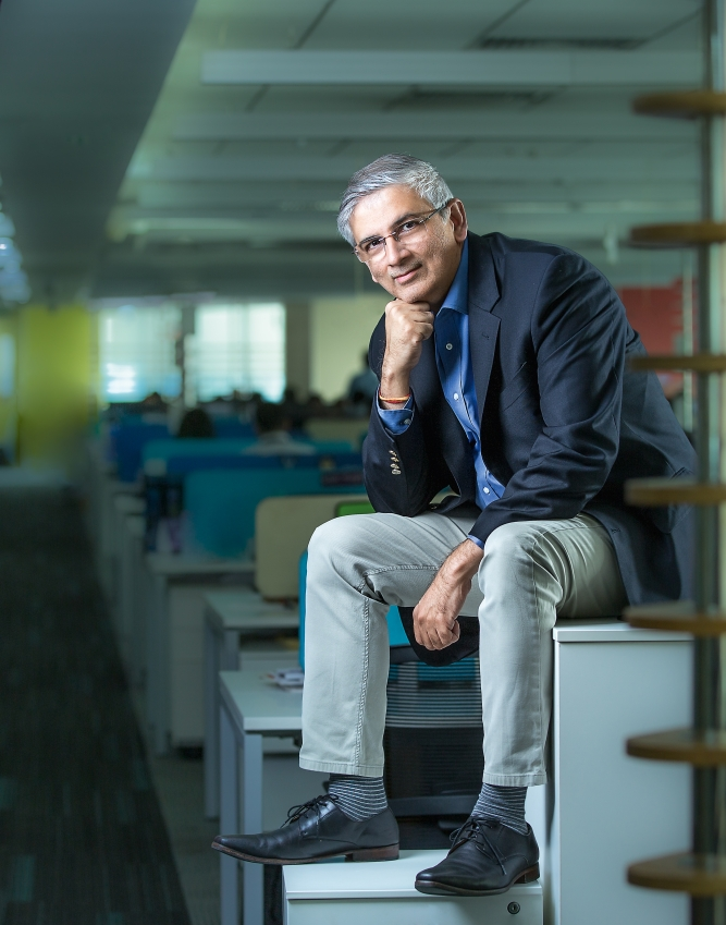 Sanjiv Kapoor, chief strategy and chief commercial officer, Vistara.