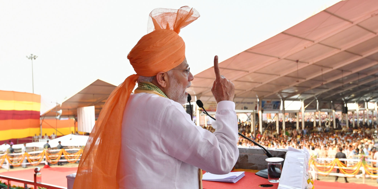 Inside Modi's attempts to build India's grand narrative and what threatens it