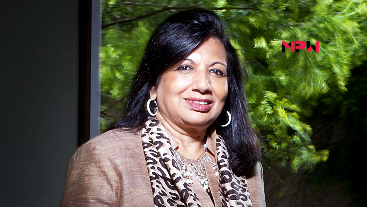 Kiran Mazumdar-Shaw: Grit is her secret formula