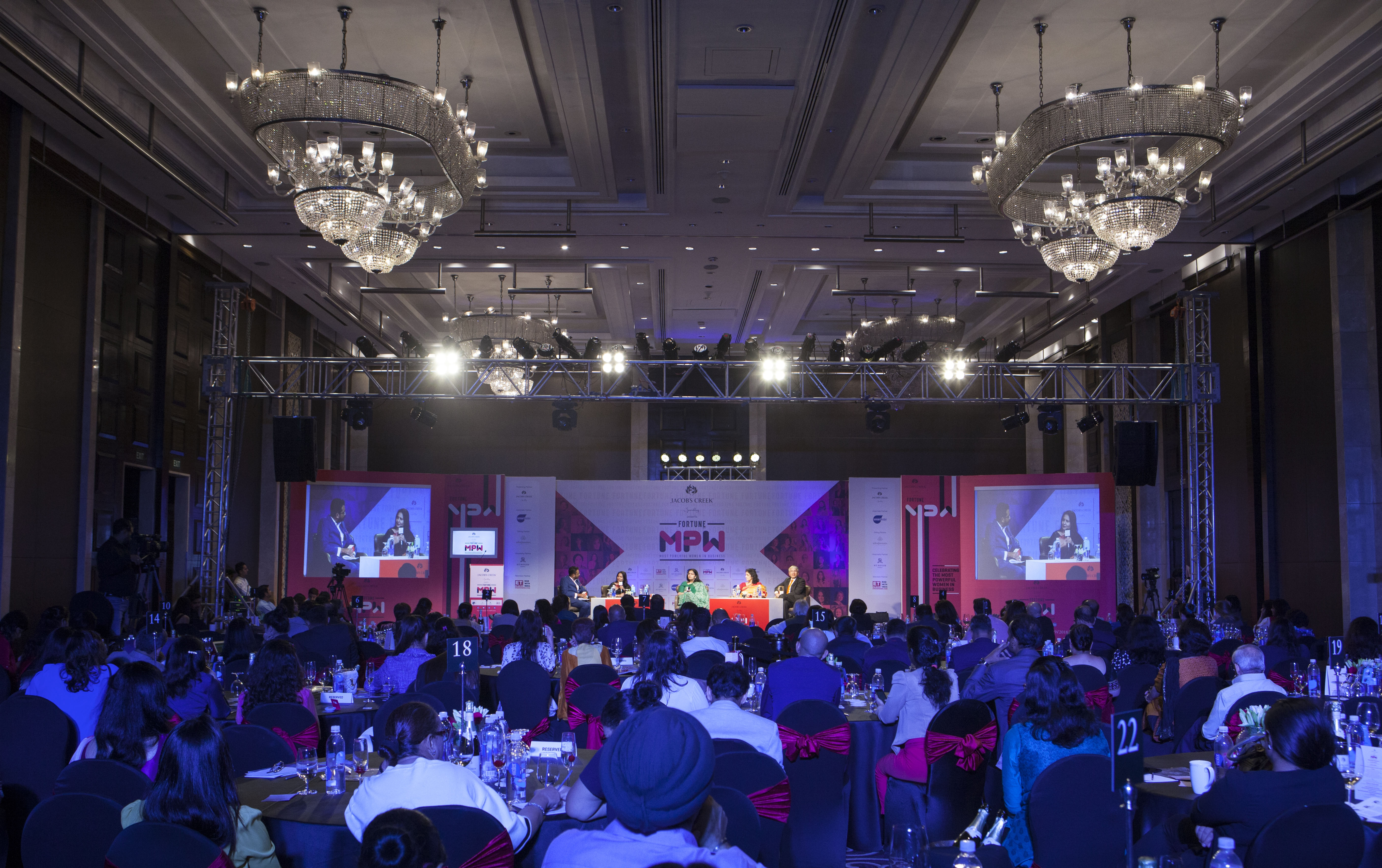 The who's who of India Inc. gathered to raise a toast to India's finest women business leaders.