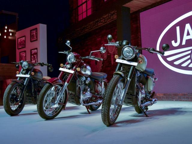 Jawa rides back into India