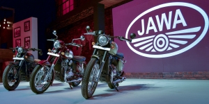 Jawa rides back into India