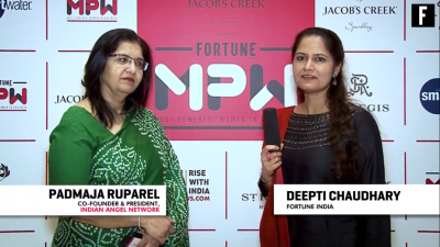 India's funding gap needs to be closed: Padmaja Ruparel