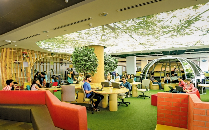 Tata Consultancy Services office in Pune