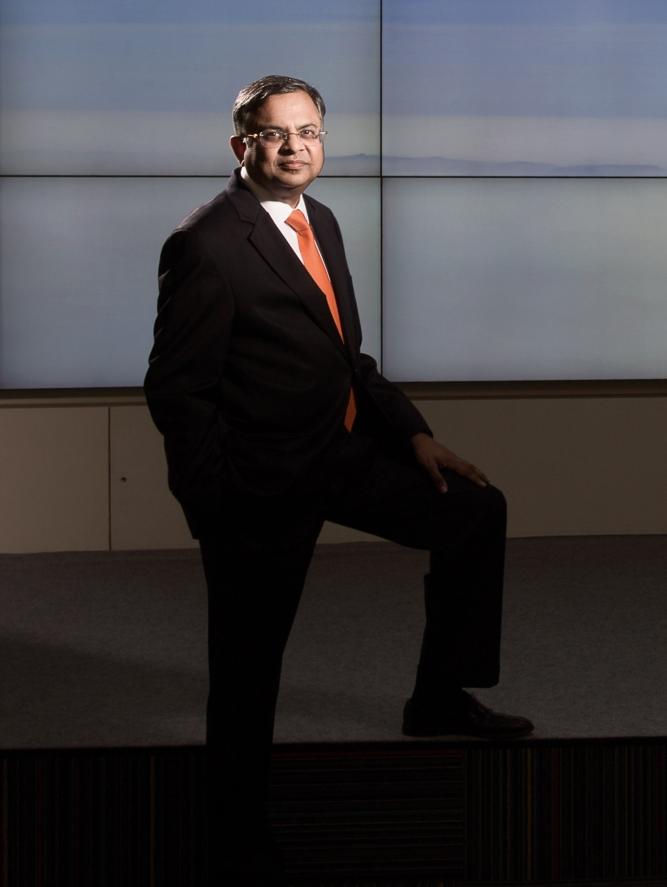 Natarajan Chandrasekaran, chairman ofTata Sons.