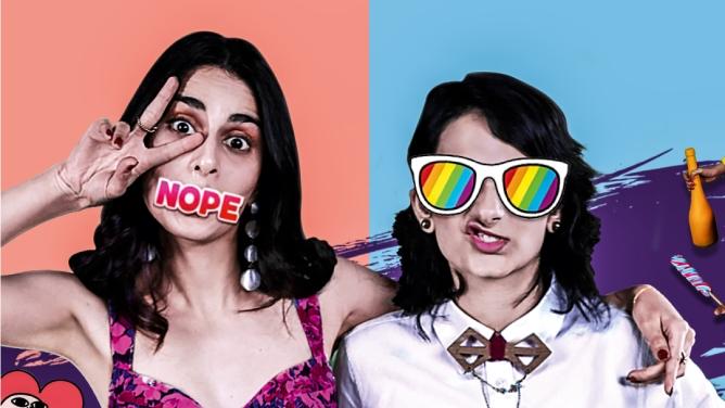 Poster of Dice Media's&nbsp; web series titled Adulting.<em></em>