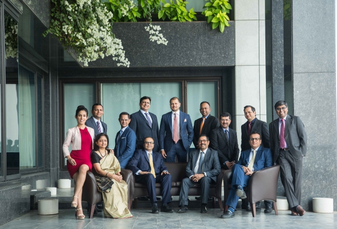 <b>Top Row - </b>Left to right: Priyanka Khurana – Executive Director, Corporate Sales, India; Arun R – Executive Director, Credit Products, India; Leon D'Souza - General Counsel, India; Indranil Chakravorty - Head of Fixed Income, Institutional Sales, India; Samir Sheth – Head of Execution Services & Head of Equities, India; Kishore Iyer – Chief Administrative Officer, India; Vipul Chatwani – Head of Finance & amp; Chief Financial Officer, India; Sanjeet Singh – Head of Rates Trading, India; Saion Mukherjee – Head of Equity Research, India. <b>Front Row -</b> Left to right: Jyoti Tandon – Head of Compliance, India; Utpal Oza – Head of Investment Banking, India; Prabhat Awasthi – Country Head, India; Amit Thawani – Head of India Coverage, Investment Banking.